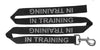 Dogline Reflective Nylon Service Dog Leash