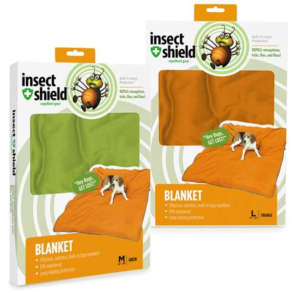 Insect Shield Dog Blanket - Keep Doggie Safe
