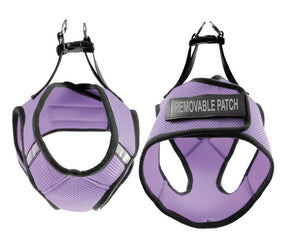 Dogline Boston Soft Mesh Service Dog Harness + Built-In Hook & Loop Fastener