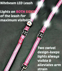 Nitebeam LED Lighted Dog Leash