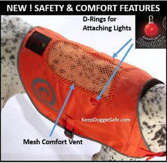 Safety Orange Reflective Vest