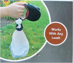 Poop Bag Leash Clip - Keep Doggie Safe