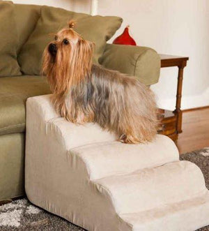 Scalloped Dog Ramp | Steps - Keep Doggie Safe