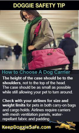 SleepyPod Air Carrier- Dogs up to 15 lbs - Keep Doggie Safe