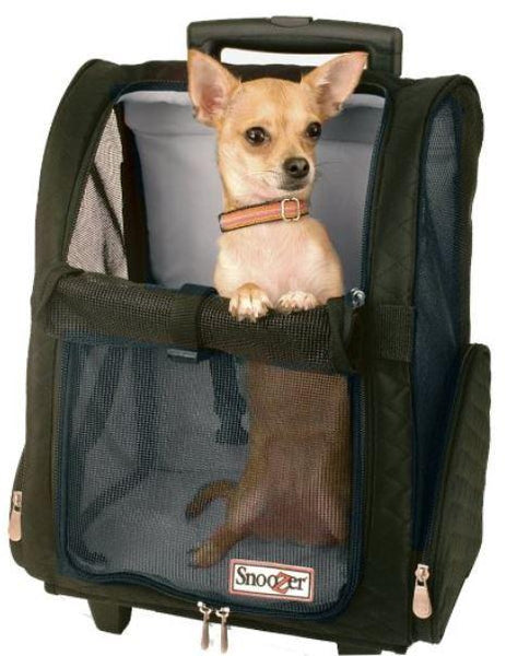 Snoozer Roll Around Pet Carrier Backpack - Keep Doggie Safe