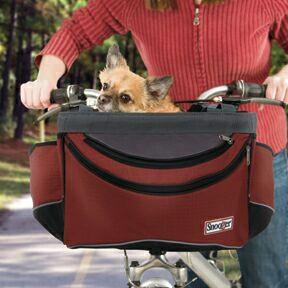 Snoozer Sporty Bike Basket - Keep Doggie Safe
