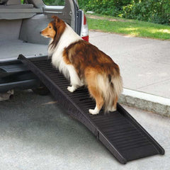 Folding - Easy-To-Carry Pet Ramp - Keep Doggie Safe