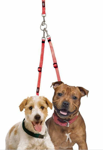 Two Dog  Tangle-Free Coupler - Keep Doggie Safe