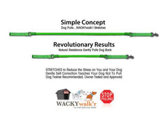 Wacky Walkr Urban Walkr Stretch Leash, Reduces Pulling