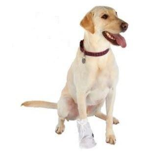 Ultra Paws Dog Wound Boot Disposable Covers (Set of 4) - Keep Doggie Safe