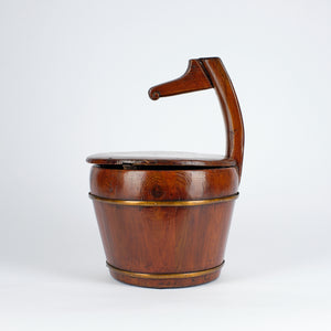 Ark Antiques Goose Neck Storage Bucket