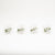 Crystal Starburst Napkin Ring Set/4