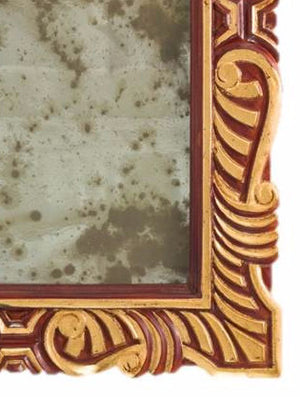 Petite Mirror 18th C. Gold & 18th C. Varnish