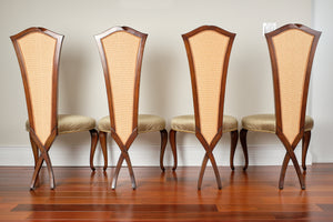 Christopher Guy Chris Cross Dining Chairs - Set of 4