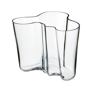 Alvar Aalto Clear Vase Collection