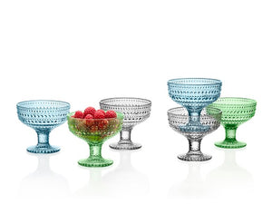 Kastehelmi Footed Bowl Collection