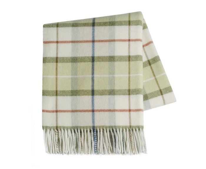 Throw~Italian Mod Plaid Lambswool