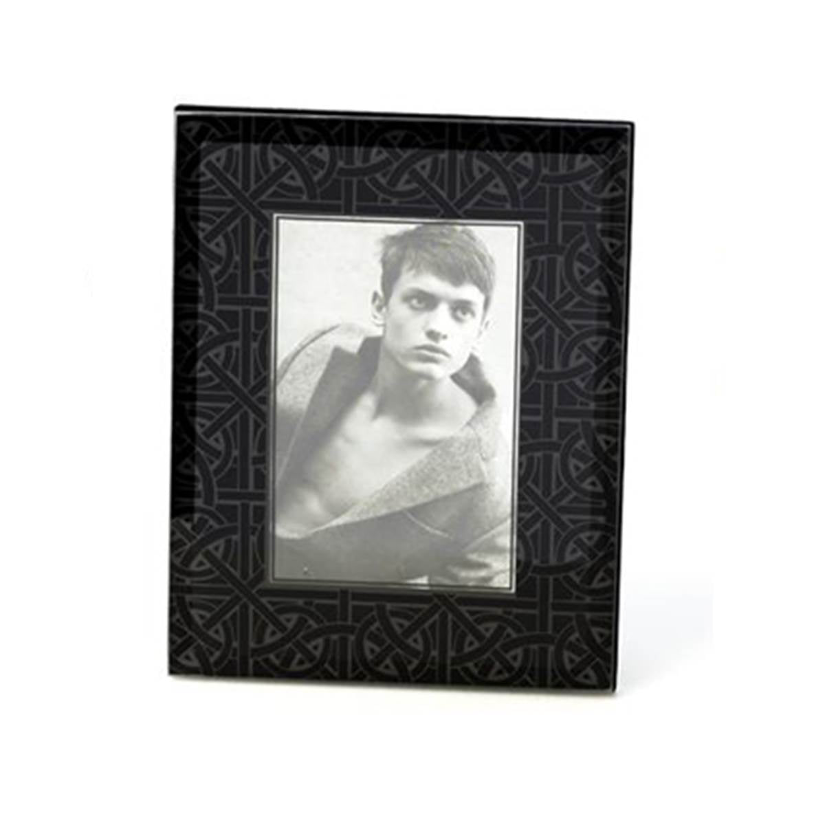 Picture Frame~Weave Pewter & Weave