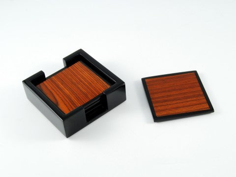 Lacquer Coaster Collection Set/4