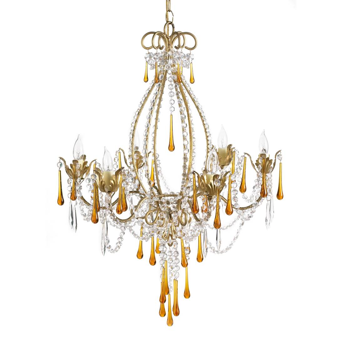 Dorian Webb ~ La Scala Chandelier by Viaggio Home