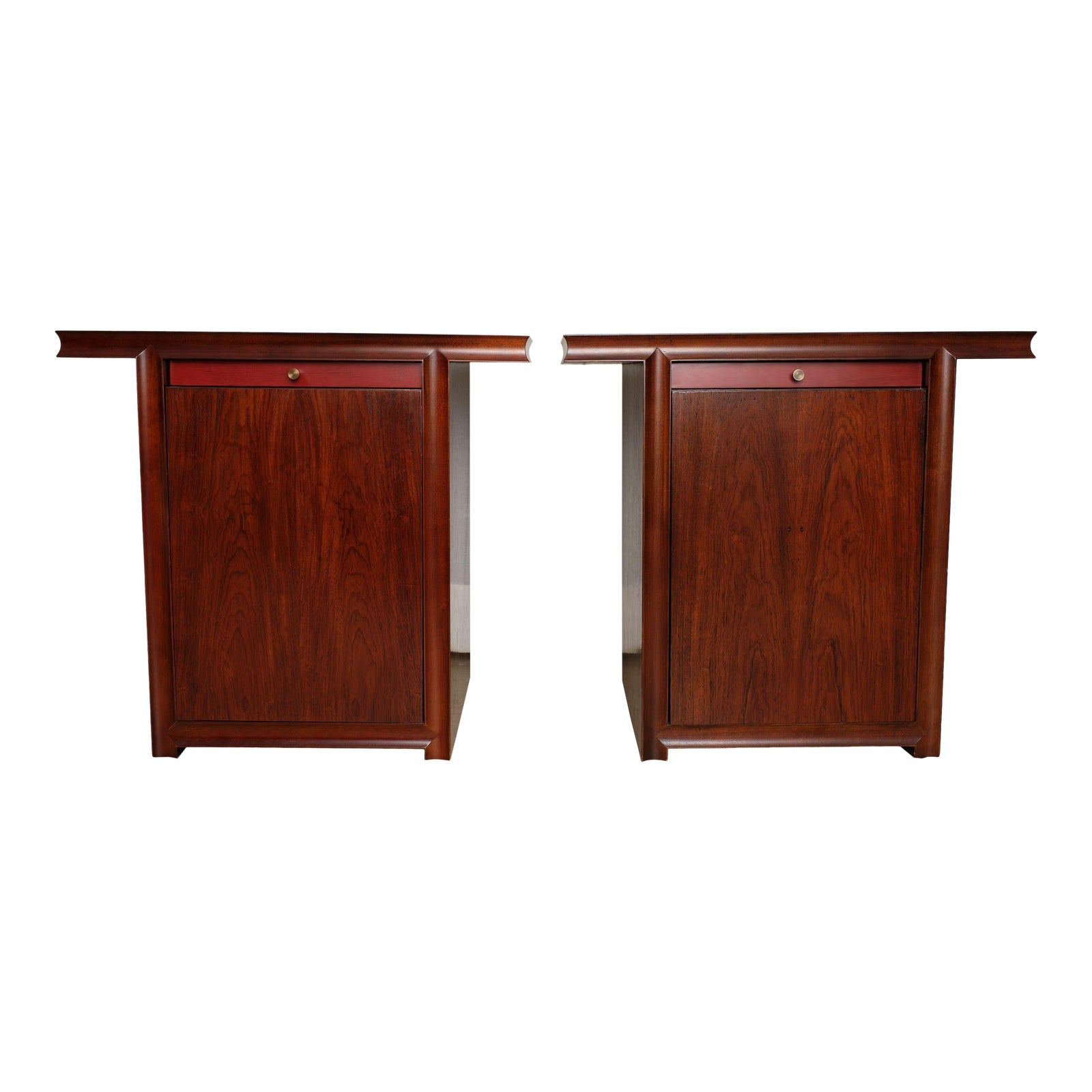Bolier Kimono Collection Side Tables - Pair