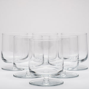 Short Stem All Purpose Glassware Set of 12