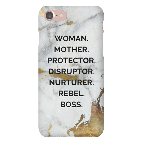 Nouns Marble Iphone case - The REBEL Tribe