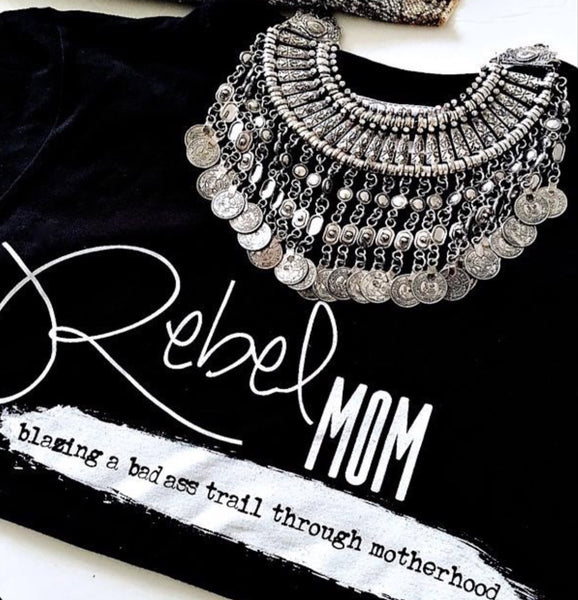 """REBEL MOM"" tee - The REBEL Tribe"