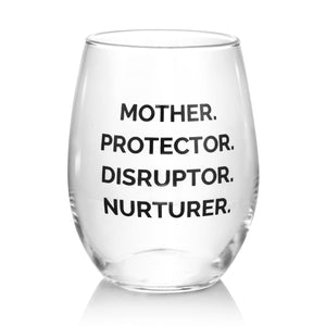 NOUNS TELL OUR STORY STEMLESS WINE GLASS - The REBEL Tribe