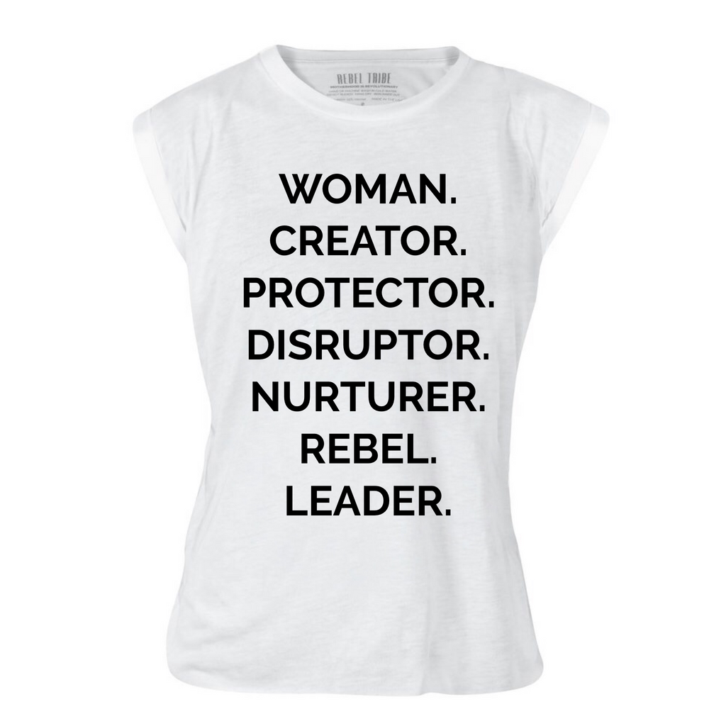 "The ART of DISRUPTION ""NOUNS"" TEE - The REBEL Tribe"