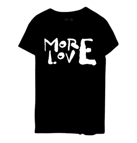 MORE LOVE TEE - The Rebel Tribe - graphic tee, tee, t-shirt, motherhood, mother's special, liited edition, black tee