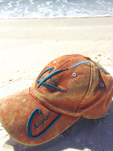 Catch Life Hat Tangerine Front