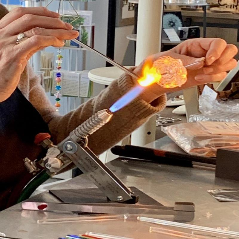 Flameworking 101-Glass Beadmaking with Sheila Checkoway