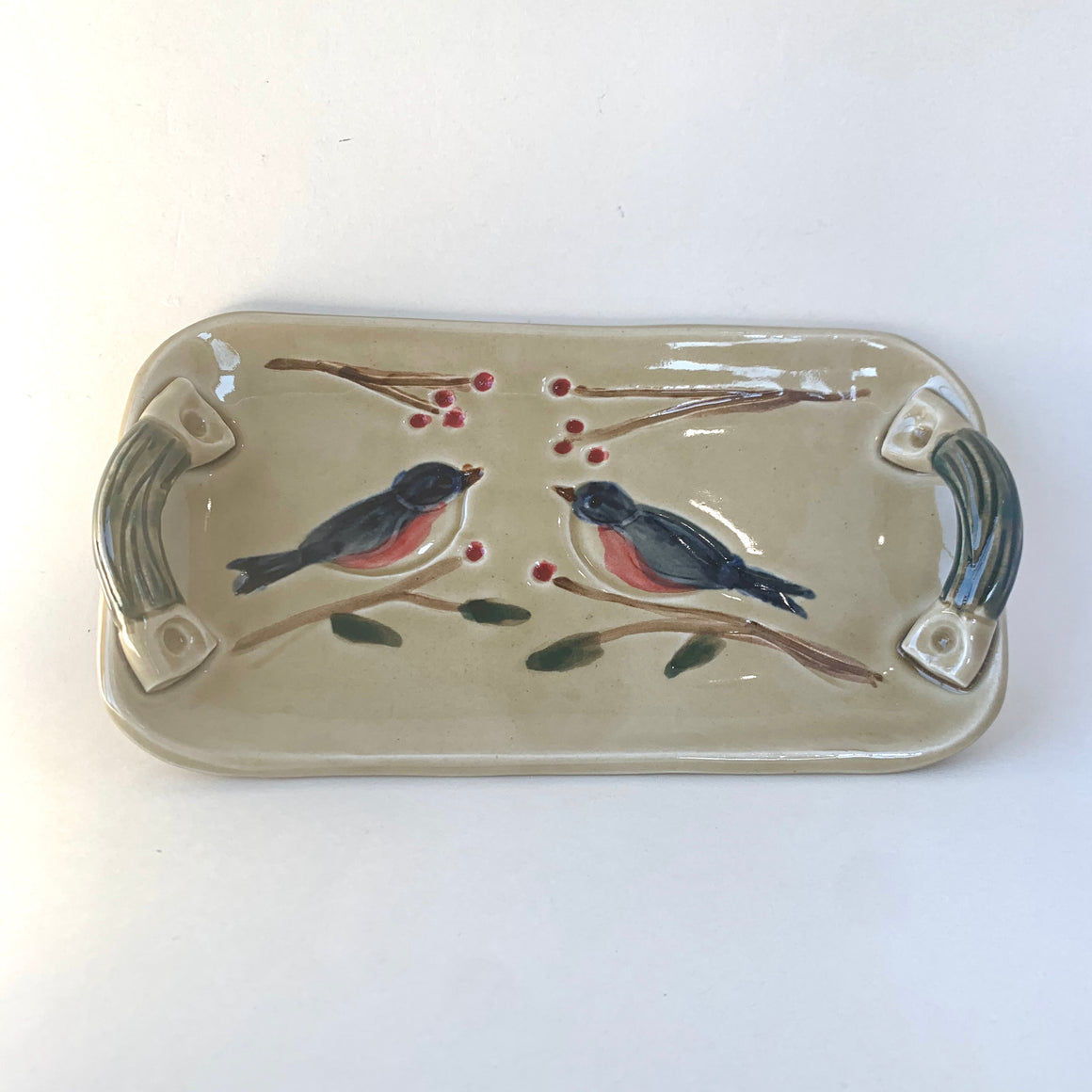 Two-Bird Bluebird Tray