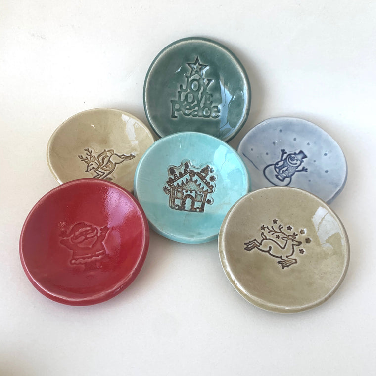 Small Holiday Bowls