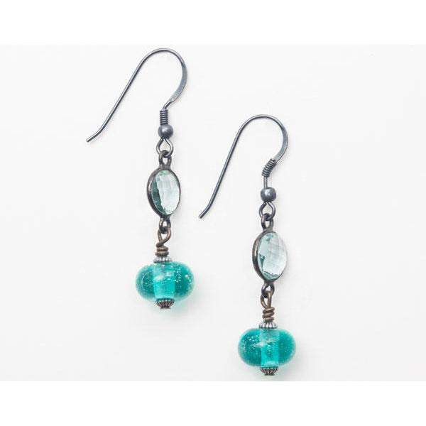 Aquamarine Gemstone Earrings