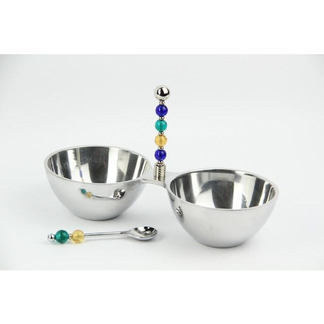 Dip/Nut Bowl-Transparent Gem-Dark