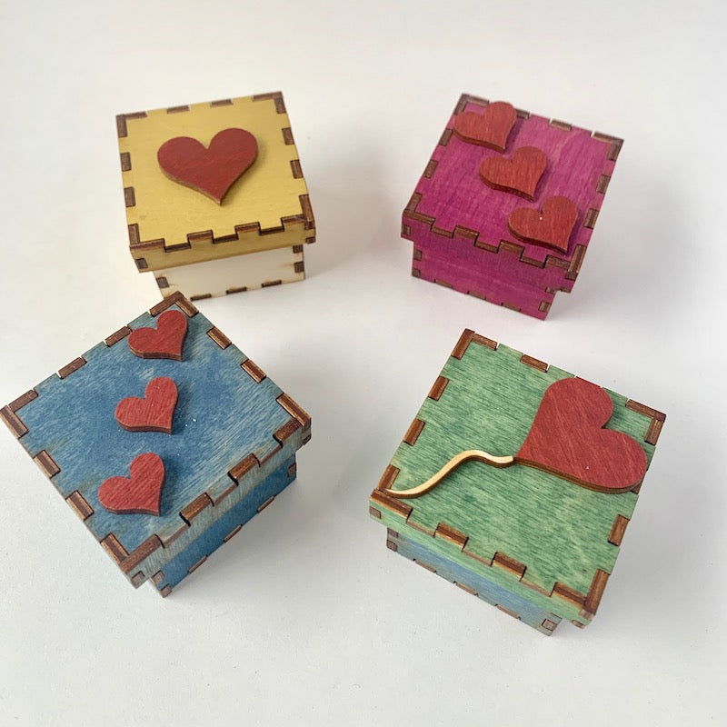 Tiny Treasure Boxes