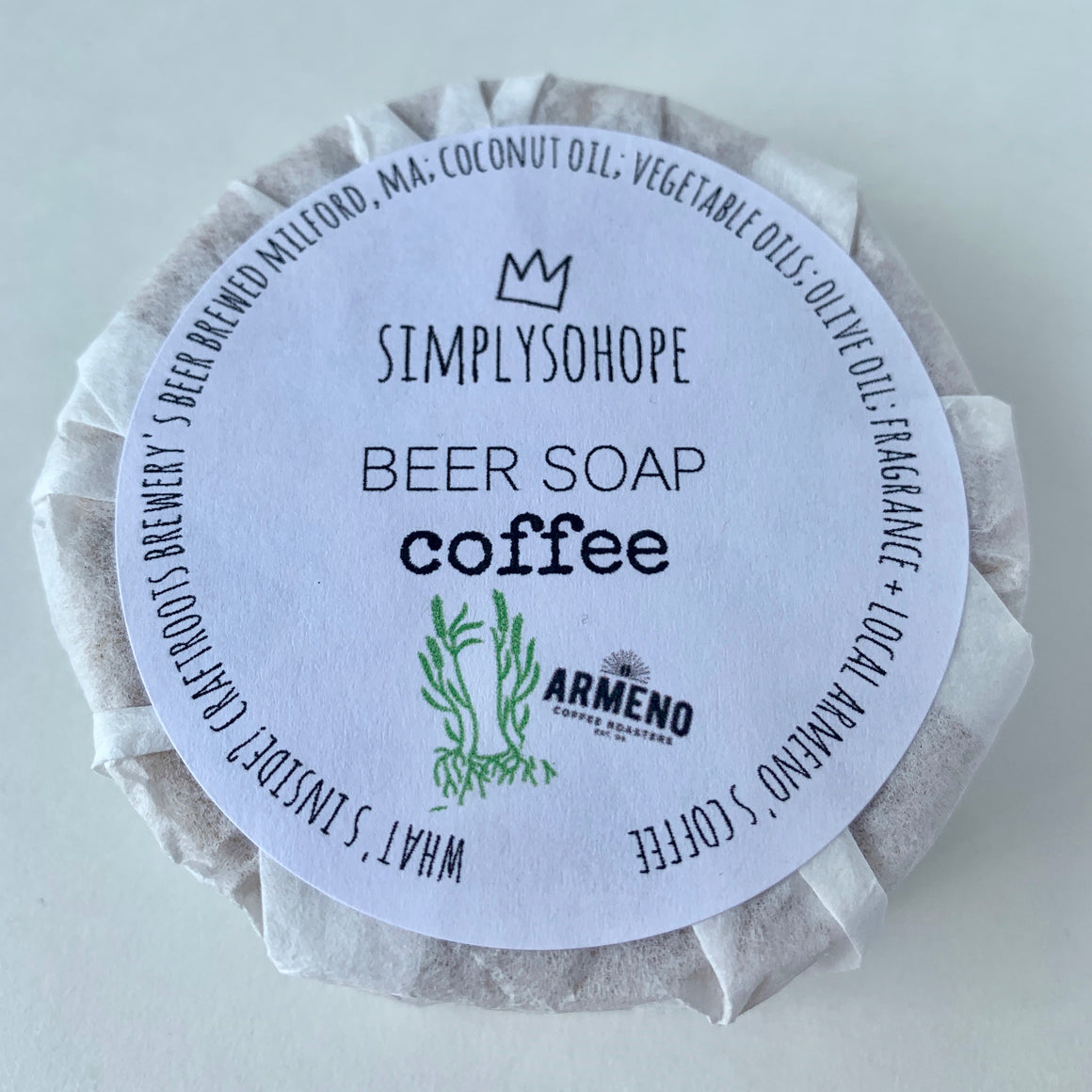 Simply SoHope - Beer Soap