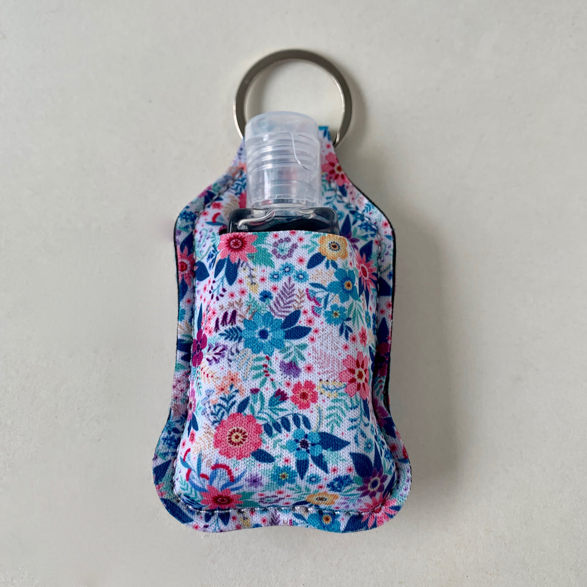Keychain/Hand Sanitizer Holder