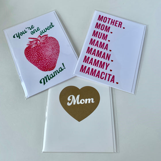 Mother's Day Cards - Fat Chick Press