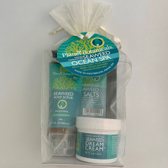 Maine Seaweed Body Care Gift Bag