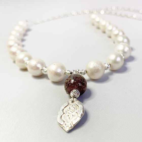 Signature Pearl Wedding Necklace