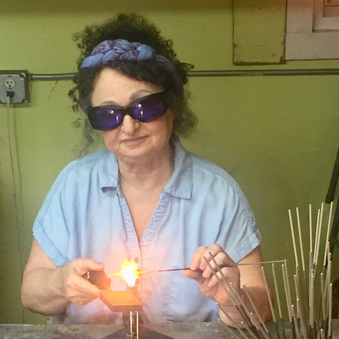 Glass Beadmaking Intensive with Sheila Checkoway