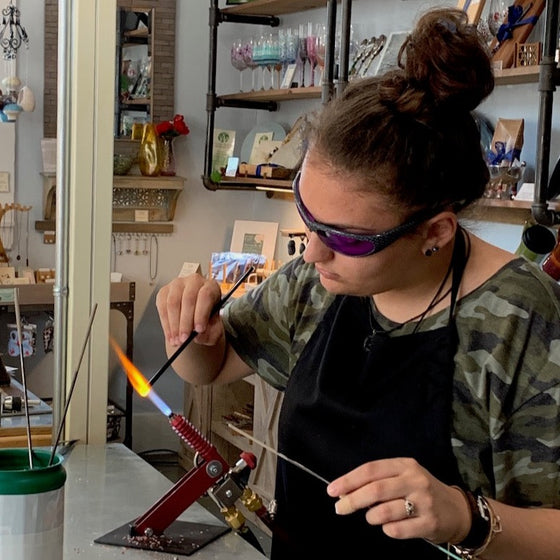 Teen Summer Camp - Glass Beads - Ages 12 and up -Session I - 7/6- 7/10