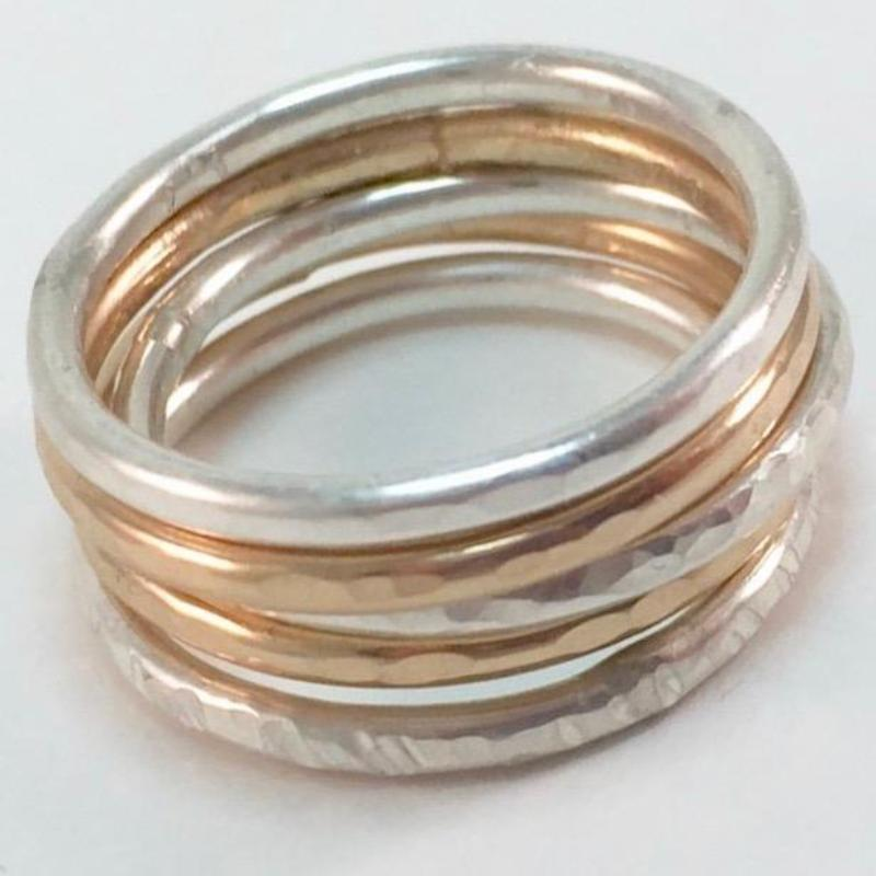 Stacking Silver Rings Workshop