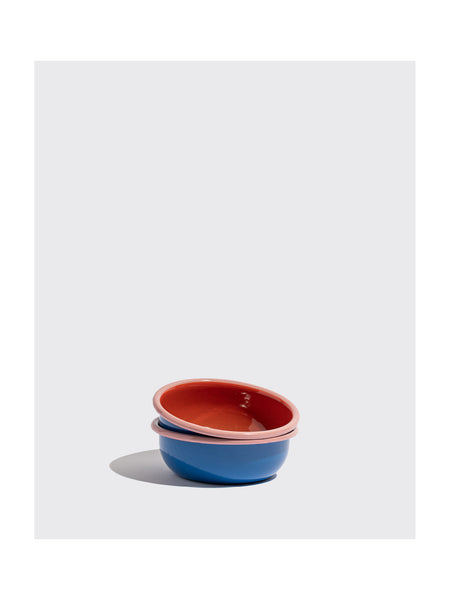 Cobalt Colorblocked Bowl