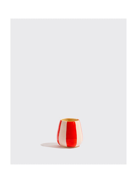 Red Striped Cup