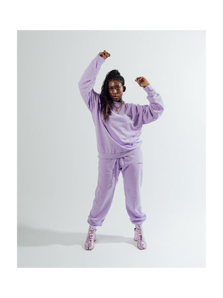 YOWIE Everyday Sweatpant in Purple Rose