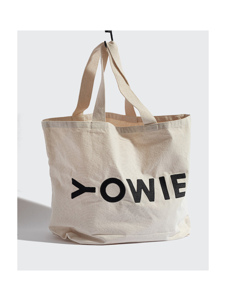 YOWIE X-Large Embroidered Tote